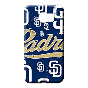 samsung galaxy s6 edge - Proof Skin For phone Fashion Design phone case cover san diego padres mlb baseball