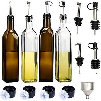Amazon.com: HAIBO - Dispensador de aceite de oliva (4 ...