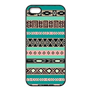 Custom Aztec Tribal Pattern Back Cover Case for iphone5,5S JN5S-369