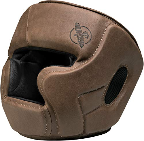 Hayabusa MMA Headgear | T3 Kanpeki MMA and Boxing Headgear | Men and Women | Brown | One Size