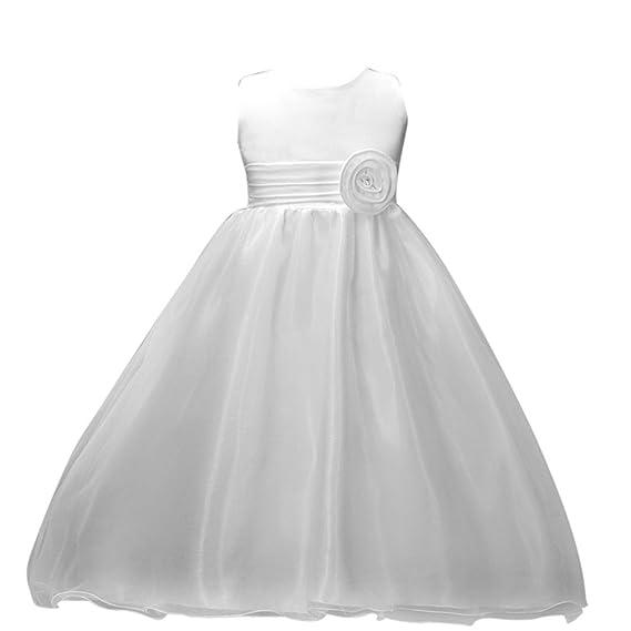 Vestido Niña Pequeño Vestidos de Dama de Honor Vestido de Novia de ...