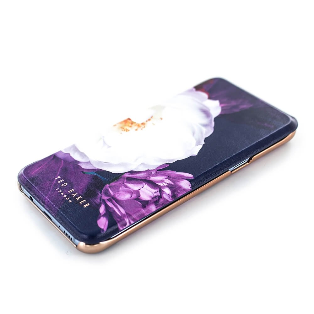 info for 84be0 13d4f Ted Baker LANDACE Mirror Folio Case for Samsung Galaxy S8+ - Blushing  Bouquet