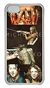 iCustomonline The Walking Dead Personalized Plastic Transparent Back Case for iphone 5/5s iphone 5/5s