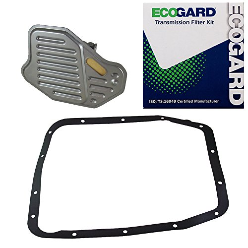 ECOGARD XT1217 Transmission Filter Kit for 1997-2001 Ford Expedition, 2000 E-150 Econoline Club Wagon, 1997-1998 F-250, 2000 E-250 Econoline, 1997 F-150, 1994-1996 Mustang, 1993-1995 Crown Victoria ()