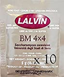 Home Brew Ohio BM 4 x 4'' Lalvin Wine Yeast (10 Pack)