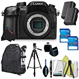 Panasonic LUMIX DMC-GH4 16.05MP Digital Single Lens Mirrorless Camera with 4K Cinematic Video (Body)