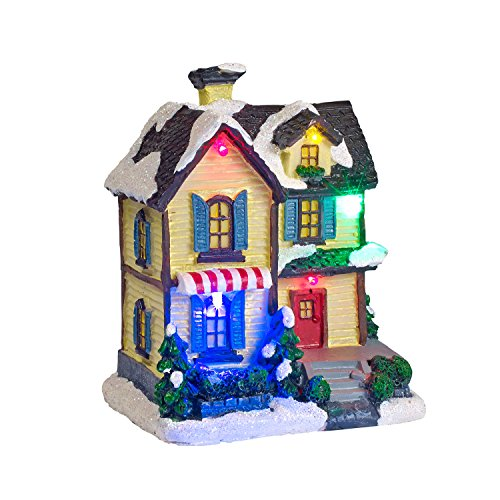 Battery Operated LED Light Up Christmas Village Scene by Lights4fun, Inc. (Image #2)