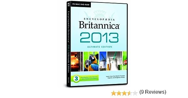 Encyclopaedia Britannica 2013: 9781843265863: Amazon.com: Books