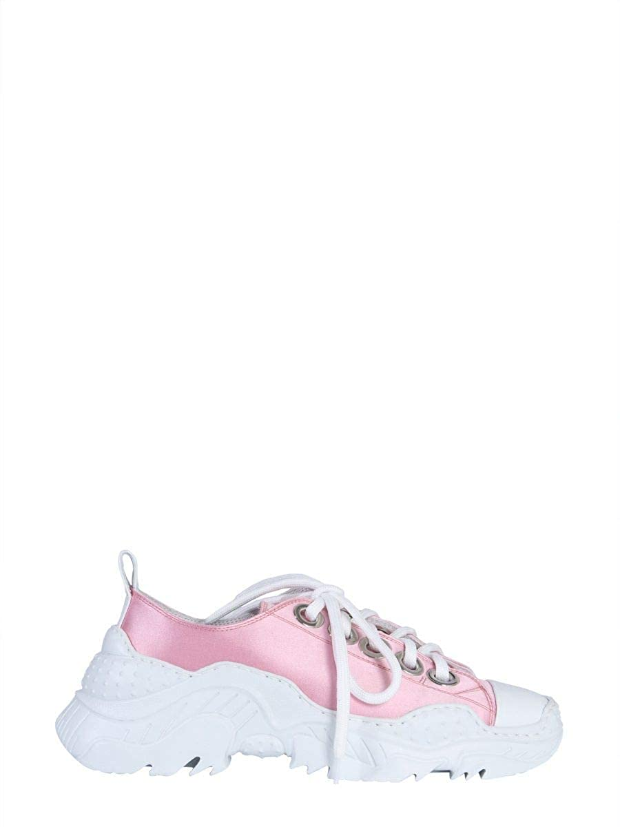 - N°21 Women's 00119SSS00050003F001 Pink Leather Sneakers