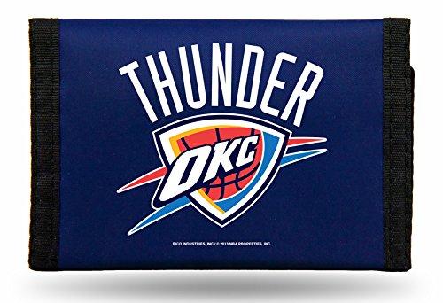 Rico NBA Oklahoma City Thunder Nylon Trifold Wallet by Rico