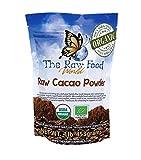 Raw Organic Cacao Powder, 16oz, 'The Raw Food World'