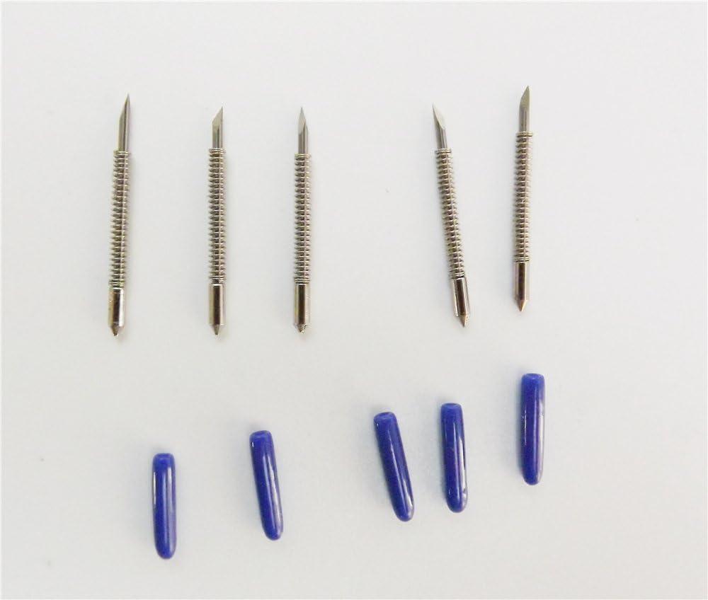 Nuevo repuesto Graphtec CB09 cuchilla para cortador de vinilo Plotter cuchillas de 5 x 60 °: Amazon.es: Electrónica