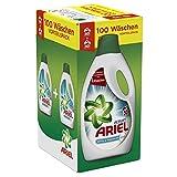 Ariel mit Febreze Vollwaschmittel Flüssig, 1er Pack (1 x 100 Waschladungen)