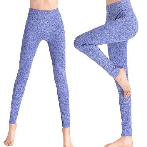 VAMEI Womens leggings Fitness Waisted
