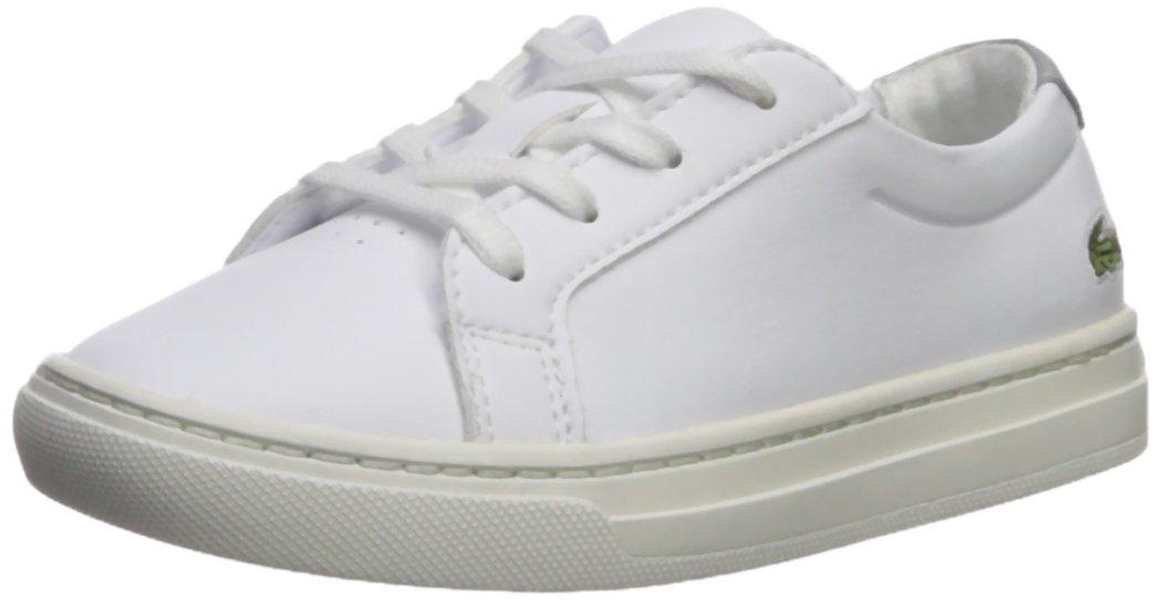 Lacoste Kids' L.12.12 Sneakers,White/Silver