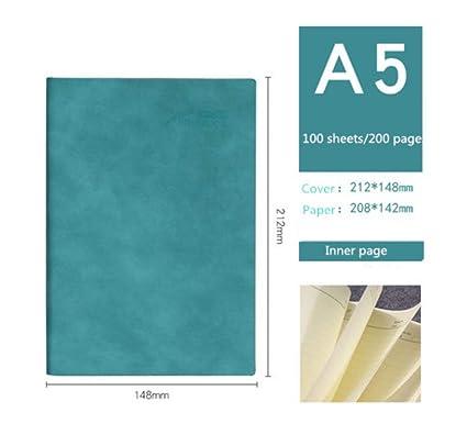 Papelería para cuaderno A5 Papel Dot Agenda Bloc de notas ...