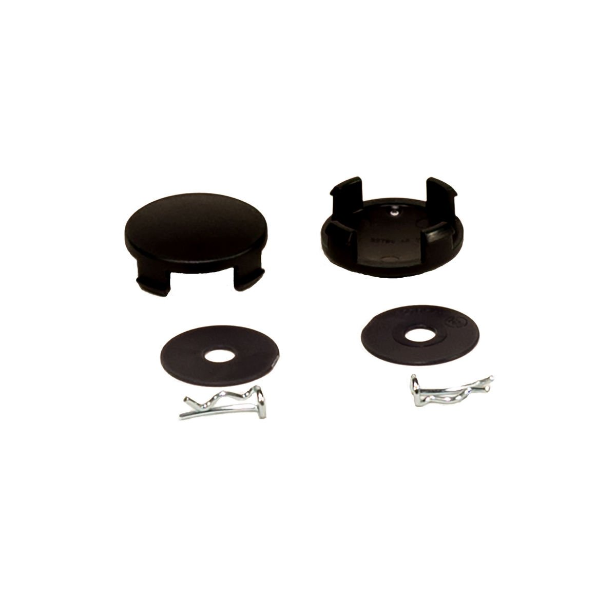 Chicco Bravo Stroller - Replacement Rear Wheel Set - Pins & Hubcaps