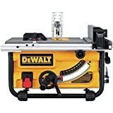 DEWALT DW745S Compact Job Site Table Saw with