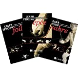LEARN FENCING - 3 DVD Box Set - A Beginner's Guide to the Techniques of Olympic Sword Fighting - FOIL, EPEE & SABRE