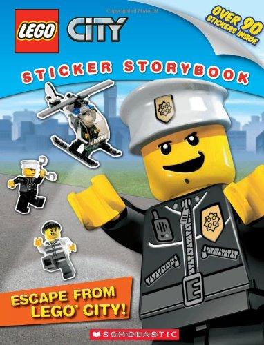 - LEGO City: Escape from LEGO City!: Sticker Storybook