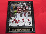 Randy Moss Wes Welker New England Patriots SNOW GAME Engraved Collector Plaque w/8x10 Photo