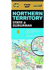 Northern Territory State & Suburban Map 571 12th ed