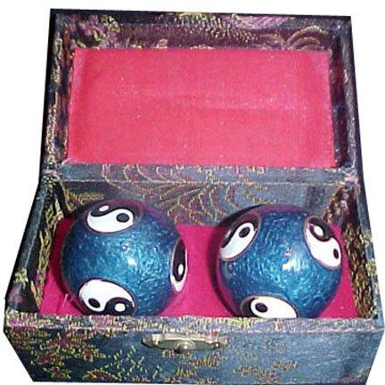 Blue Closinne Yin Yang Health Balls - Ch
