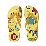 CafePress African Animals Collection - Flip Flops, Funny Thong Sandals, Beach Sandals