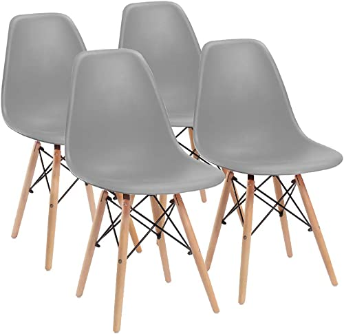 Furmax Pre Assembled Modern Style Dining Chair Mid Century Modern DSW Chair