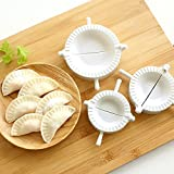 3 Pcs Dumpling Mold Pierogi Ravioli Gyoza Empanada Dough Press Mould Maker