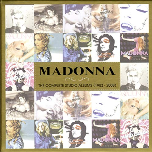 Madonna - The Complete Studio Albums 1983 - 2008 cover