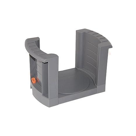 Emuca 8934021 Porta-platos regulable/extensible para platos de diámetro 187mm a 308mm
