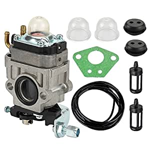 Butom 300486 Carburetor with Tune-Up Kit for Earthquake MC43 MC43CE MC43E MC43ECE MC43RCE Tiller MD43 Dethatcher WE43 WE43E WE43CE Walk-behind Edger