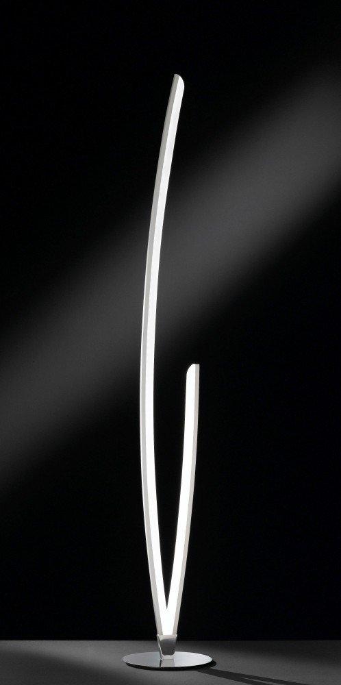 Wofi LED Stehleuchte Kelton chrom: Amazon.de: Beleuchtung