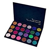 Best Eye Shadow Palettes - Aurelife 24 Color Professional Pressed Glitter Eyeshadow Palette Review