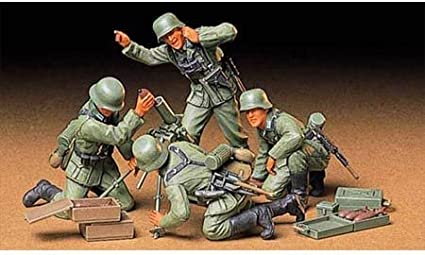 Tamiya German Tank Crew at Rest Kit Modellismo Militare