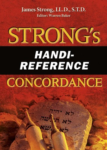 Strong's Handi-Reference Concordance (AMG Handi-Reference Series) PDF