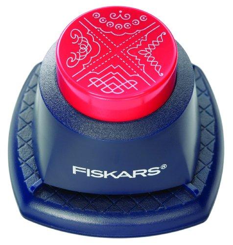 Fiskars 4 in 1 EMBOSSING Corner Punch SPIRAL (2383)