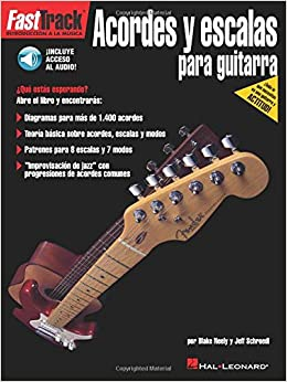 FastTrack Guitar Chords & Scales Spanish Book/Online Audio Hal Leonard: Amazon.es: Blake Neely, Jeff Schroedl: Libros en idiomas extranjeros
