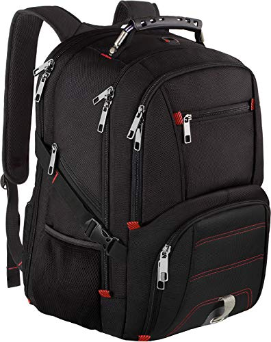 Travel Laptop Backpack,Extra Large Capacity TSA Friendly Anti Theft Backpacks with USB Charging Port,Water-Resistant Men Women Business College Student Computer Bookbag Fits 17 Inch Laptop&Notebook from Jiefeike