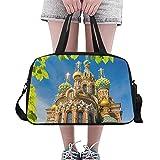 CaseCastle Overnight Bag Church Weekend Travel Bag for Unisex Duffel