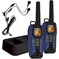 Uniden 50-Mile GMRS/FRS Radio - 2 Radios, Micro USB, Charge Cradle,TRU waterproof, Headset,
