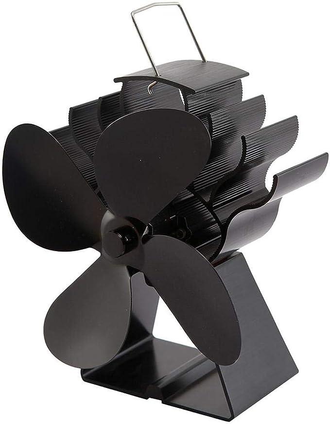 Phrat - Ventilador de Horno para Chimenea, Horno de leña, 4 aspas ...