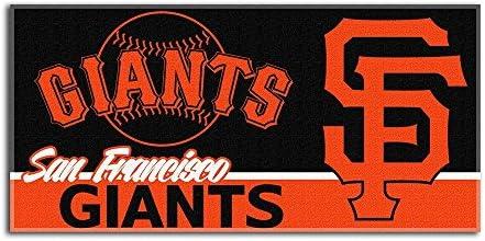 2dda98ac Northwest The Company MLB San Francisco Giants Short Stop Oversized Beach  Towel, 34-Inch by 70-Inch