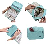 Ourtour Hanging Travel Cosmetic Organizer Toiletry