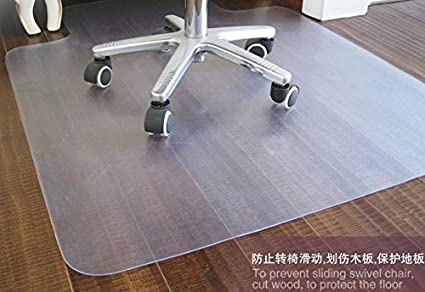 Amazon Pvc Chair Mat For Hard Floors 46 X 60 Inches 2mm Thick