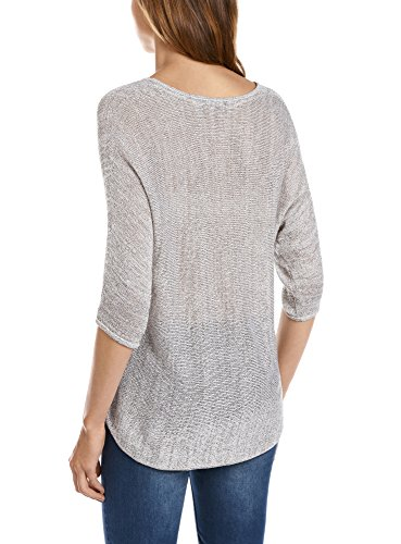 et de Coupe Pull Blanc Ample Fil Femme Lurex 1200x Collection oodji wWRUqpOxXF