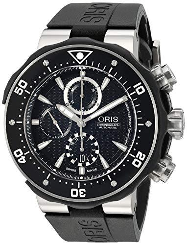 Oris Pro Diver Chronograph Mens Watch 674 7630 71 54 RS