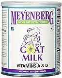 Meyenberg Goat Milk, Non Fat Powdered Goat Milk, 4 Pack (12 oz (340 g) Each) TWskx