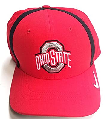 NIKE Ohio State Buckeyes Velcro Baseball Cap Hat 845789-657 One Size